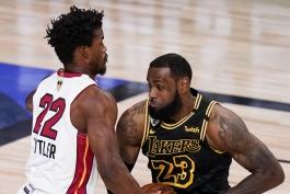 بسکتبال / میامی هیت / لس آنجلس لیکرز / NBA Basketball