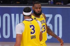 بسکتبال / دنور ناگتس / لس آنجلس لیکرز / NBA Basketball
