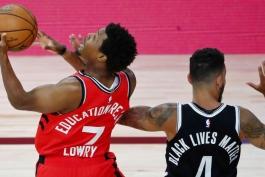 بسکتبال / بروکلین نتس/ تورنتو رپترز / NBA Basketball