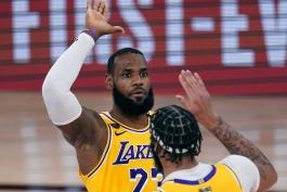 بسکتبال / لس آنجلس لیکرز / میامی هیت / NBA Basketball