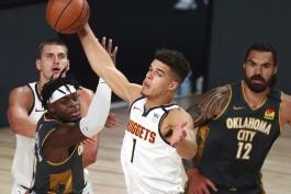 بسکتبال / دنور ناگتس / اوکلاهاما سیتی تاندر / NBA Basketball