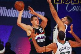 بسکتبال / دنور ناگتس / یوتا جز / NBA Basketball