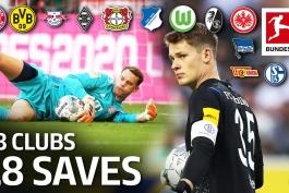 18 واکنش برتر از 18 باشگاه بوندسلیگا در فصل 2019/20 / ویدیو