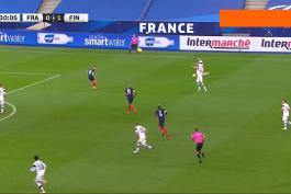 گل دیدنی والاکاری به فرانسه (فرانسه 0-2 فنلاند)