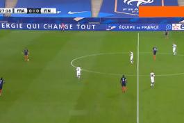 گل مارکوس فورس به فرانسه (فرانسه 0-1 فنلاند)