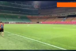 خداحافظی جک بوناونتورا از میلان و سن سیرو / ویدیو