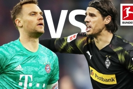 مونشن گلادباخ / بایرن مونیخ / بوندس لیگا / آلمان / سوئیس / Borussia Mönchengladbach / bayern munich