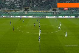 europa league / لیگ اروپا  / راپید وین / آرسنال / arsenal