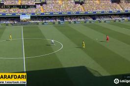 پاس گل زیبای سانتی کازورلا مقابل والنسیا (ویارئال 2-0 والنسیا)