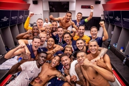 رختکن پاری سن ژرمن/فینال لیگ قهرمانان اروپا