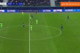 خلاصه بازی زنیت 1-1 لاتزیو (لیگ قهرمانان اروپا 2020/21)