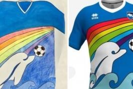 پیراهن فصل آینده پسکارا، طرحی از نقاشی یک پسر بچه 6 ساله خواهد بود (عکس)