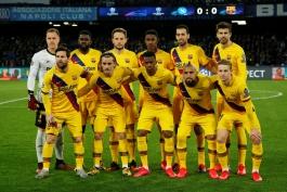 بازیکنان بارسلونا / لیگ قهرمانان اروپا / CL