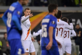 رم-خنت-Roma-Gent-لیگ اروپا-بلژیک-ایتالیا-بوسنی-Roma
