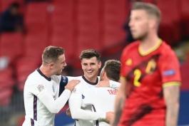 تیم ملی انگلیس-انگلستان-سه شیرها-بلژیک-لیگ ملت های اروپا-Belgium-England