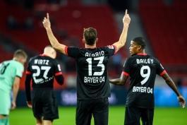 بایرلورکوزن-مونش گلادباخ-آلمان-بوندسلیگا-Germany-Bundesliga
