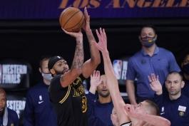 آنتونی دیویس - لس آنجلس لیکرز - بسکتبال NBA - پلی آف NBA - نتایج مسابقات nba
