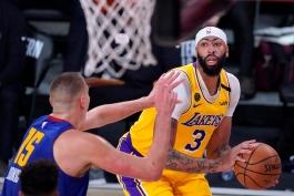 آنتونی دیویس - لس آنجلس لیکرز - بسکتبال NBA - پلی آف NBA