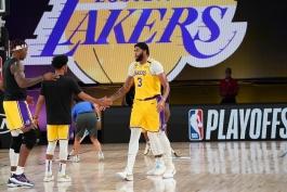 اخبار بسکتبال NBA - نتایج مسابقات NBA - هایلایت بازی های NBA - پلی آف NBA - لس آنجلس لیکرز - آنتونی دیویس