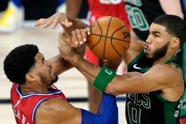 جیسن تیتم - جیسون تیتوم - بوستون سلتیکس - بسکتبال NBA - پلی آف NBA