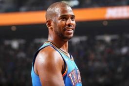 کریس پال - اوکلاهاما سیتی تاندر - لیگ NBA - مسابقات بسکتبال NBA