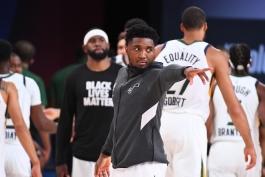 داناوان میچل - پلی آف NBA - یوتا جز - بسکتبال NBA