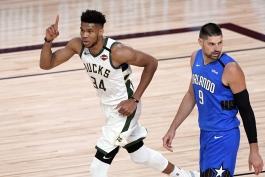 اخبار بسکتبال NBA - نتایج مسابقات NBA - میلواکی باکس - یانیس آنتتوکومپو - پلی آف NBA - نیکولا ووچویچ