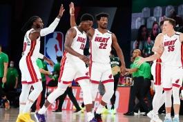 میامی هیت - بسکتبال NBA - پلی آف NBA - نتیجه مسابقات NBA