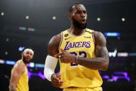 اخبار بسکتبال NBA - نتایج مسابقات NBA - لس آنجلس لیکرز - لبران جیمز