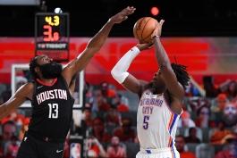 بسکتبال NBA - نتایج مسابقات NBA - هایلایت بازی های NBA - هیوستون راکتس - جیمز هاردن - پلی آف NBA