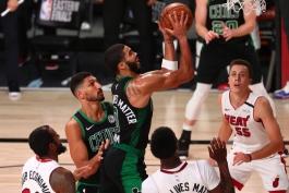 جیسن تیتم - جیسون تیتوم - بوستون سلتیکس - بسکتبال NBA - پلی آف NBA - میامی هیت