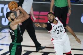 جیسن تیتم - جیسون تیتوم - بوستون سلتیکس - بسکتبال NBA - پلی آف NBA - تورنتو رپترز
