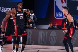 اخبار بسکتبال NBA - نتایج مسابقات NBA - هایلایت بازی های NBA - پلی آف NBA - میامی هیت - جیمی باتلر
