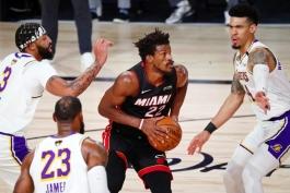 جیمی باتلر - میامی هیت - فینال NBA - بسکتبال NBA - نتیجه مسابقات NBA