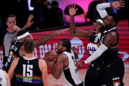 کوای لنارد - لس آنجلس کلیپرز - دنور ناگتس - بسکتبال NBA - پلی آف NBA