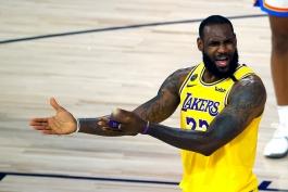 لبران جیمز - لس آنجلس لیکرز - لیگ بسکتبال NBA - مسابقات بسکتبال NBA