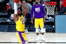 لبران جیمز - لس آنجلس لیکرز - بسکتبال NBA - نتایج مسابقات NBA - فینال NBA