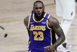 لبران جیمز - لس آنجلس لیکرز - لیگ بسکتبال NBA - مسابقات بسکتبال NBA - پلی آف NBA