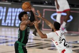 پلی آف NBA - نتایج مسابقات NBA - هایلایت بازی های NBA - بوستون سلتیکس - مارکس اسمارت