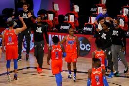 کریس پال - اوکلاهاما سیتی تاندر - لیگ NBA - مسابقات بسکتبال NBA - پلی آف NBA