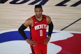 راسل وستبروک - بسکتبال NBA - مسابقات NBA - هیوستون راکتس - پلی آف NBA