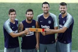 کاپیتان های بارسلونا