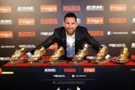 ویژه: بررسی وضعیت کفش طلا؛ لواندوفسکی در صدر و رونالدو و مسی در رتبه چهارم و پنجم !