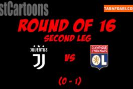 یوونتوس / لیون / لیگ قهرمانان اروپا / Juventus / Lyon / UCL