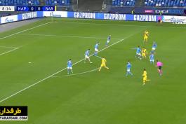 خلاصه بازی ناپولی 1-1 بارسلونا (لیگ قهرمانان اروپا - 2019/20)