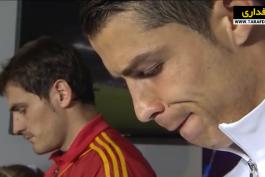 صعود اسپانیا به فینال جام ملت های اروپا با غلبه بر پرتغال در ضربات پنالتی (2012/6/27) / ویدیو