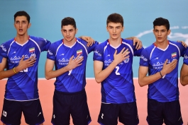 والیبال-ایران-تیم ملی والیبال نوجوانان ایران