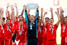 آلمان / بوندسلیگا / قهرمانی بایرن مونیخ / پایان بوندسلیگا / Bundes Liga