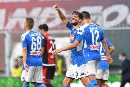 جنوا 1-2 ناپولی؛ پیروزی هایی که دیر از راه رسیدند