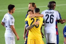 بارسلونا - Barcelona - UCL - لیگ قهرمانان اروپا - ناپولی - Napoli